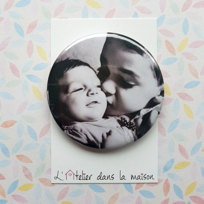 magnet ou miroir photo personnalisable