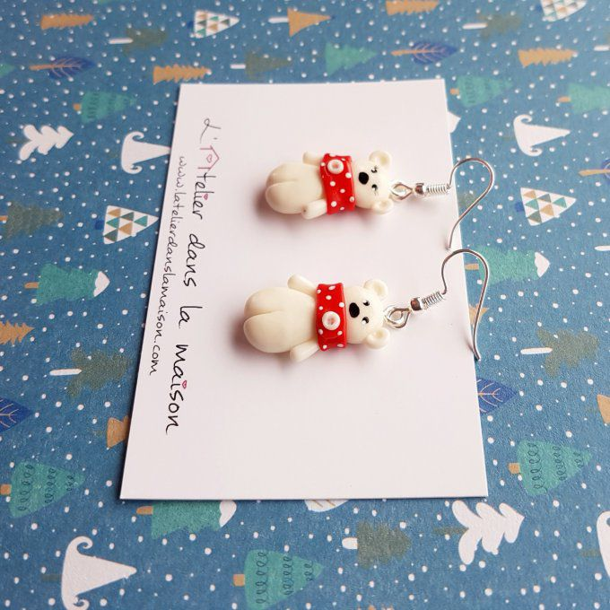 boucles ours blanc
