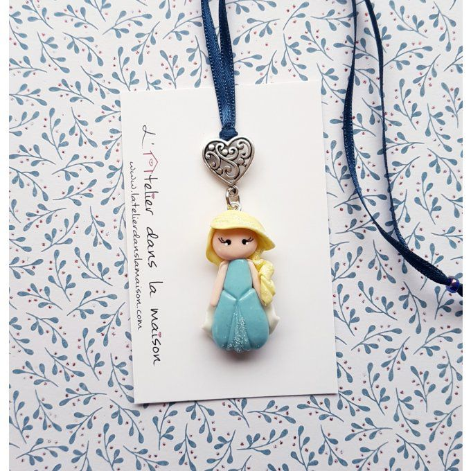 collier princesse inspiration reine des neiges