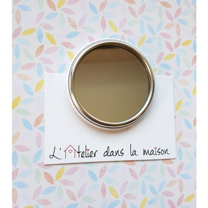 miroir photo personnalisable